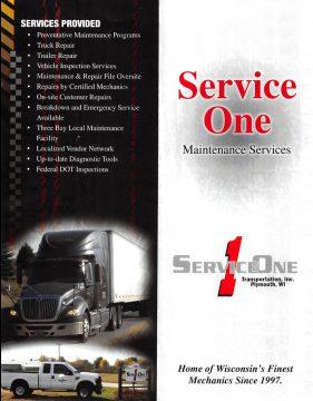 Service One Maintenance